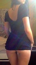 Fotos magrinha gostosinha levantando vestido sem calcinha