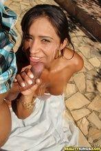 Fotos morena Alessandra Marques terminou sexo com rosto gozado