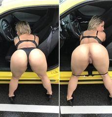 37 fotos gostosa Crystina Rossi empinando rabo grande e mostrando bundão