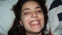 Fotos mulheres pagando boquete e terminando gozadas na boca