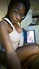 Fotos Bobbi negra gostosa mostrou as tetas na webcam
