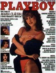 Famosa Claudia Raia Pelada na Revista Playboy Janeiro 1986