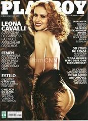 Famosa Leona Cavalli Pelada na Revista Playboy Outubro 2012