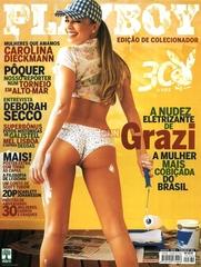 Famosa Grazi Massafera Pelada na Revista Playboy Agosto 2005