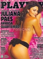 Famosa Juliana Paes Pelada na Revista Playboy Maio 2004
