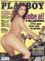 Famosa Livia Andrade Pelada na Revista Playboy Setembro 2001