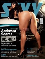 Famosa Mulher Melancia Pelada na Revista Sexy Julho 2011