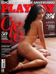 Famosa Cleo Pires Pelada na Revista Playboy Agosto 2010