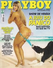 Famosa Juju Salimeni Pelada na Revista Playboy Janeiro 2010
