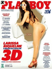 Famosa Larissa Riquelme Pelada na Revista Playboy Setembro 2010