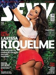 Famosa Larissa Riquelme Pelada na Revista Sexy Maio 2012