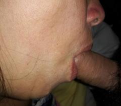 Minha esposa cuidando com carinho do meu amigo