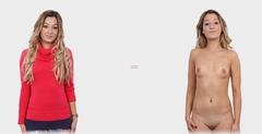 Mulheres maduras peladas ou mulheres maduras com roupas ?