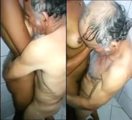 Video sexo com velho