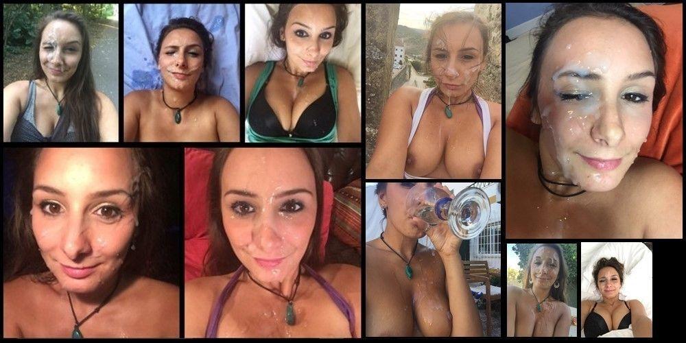 Rainha da gozada na cara, Mariah Leonne (Fotos e Videos)