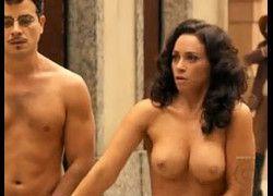 Atriz Suzana Pires, Janete em Regra do Jogo pelada com peitões de fora