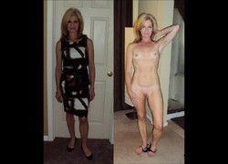 Vídeo montagem mulheres amadoras vestida e despida peladas #8