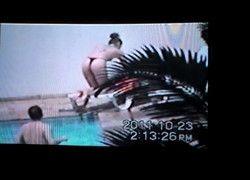 Filmando rabinho da mulher do vizinho de longe