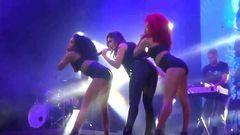 Flagra Anitta gostosa rebolando durante show no Rio de Janeiro
