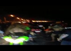 Flagra mulheres safadas na moto em evento #1