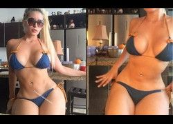 Vídeo Cecibel Vogel modelo mais gostosa do instagram #6