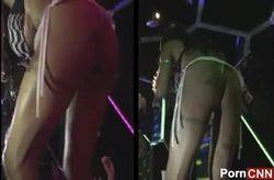 Flagra Inês Brasil rebolando bunda de calcinha no baile funk São Paulo