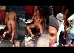 Vazou vídeo Mulher Melão pelada na favela do Heliópolis - RJ #2