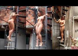 Vazou vídeo Mulher Melão pelada na favela do Heliópolis - RJ #3