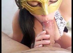 Vídeo Raquel esposinha safada tocando leitinho na boca - Campinas SP