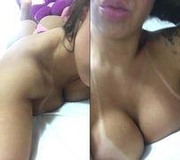 Angel Lima de Florianópolis - SC fazendo vídeo mostrando corpão