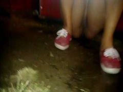 Flagra mulheres mijando em Caldas Country em Caldas Novas - GO #2