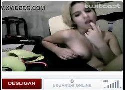 Gatinha Devassa João Neiva - ES exibindo pelada no TwitCam #2