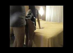 Video fazendo porno com empregada puta do Rio de Janeiro