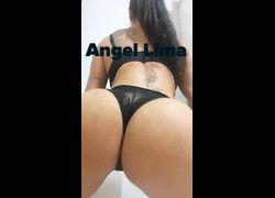 Vídeo Angel Lima dançando Olha a explosão... Quando ela bate com a bunda no chão.. - Twitter