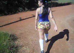 Video casada gostosa saiu para academia com consolo no cuzinho em Anapolis - Goiás - Xvideos