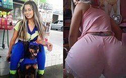 Video frentista Rafaela Melo do Posto Federal dançando Ó o Gás de pijama - Paulista - Pernambuco