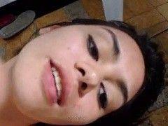 Video Maria Isabel morena puta levou pirocada em sexo caseiro