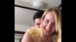 Video Sabrina loira cavala de Pernambuco dando cuzinho