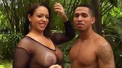 Video Angel peituda fodeu com namorado sem camisinha
