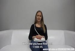 fez teste para atriz porno com muito sexo quente
